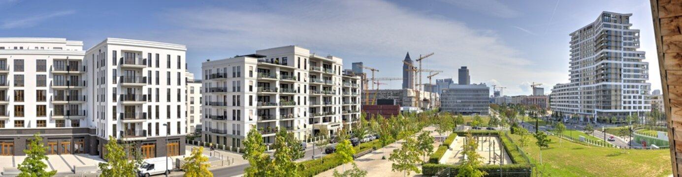 Neubaugebiet in Frankfurt am Main