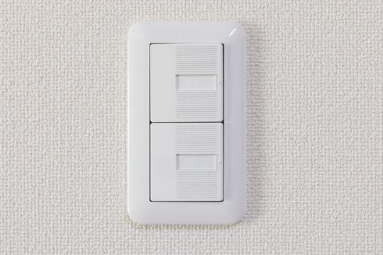 新築の照明スイッチ  設置