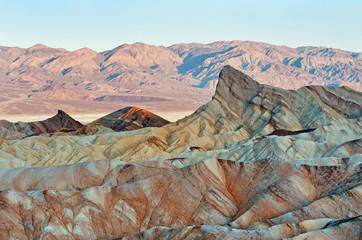 Zabriskie Point in Death Valley National Park in California, USA