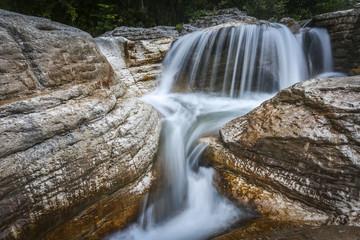 amazing waterfall in georgia