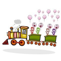 trenino per bambini