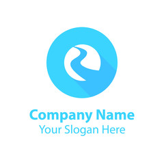 Abstract graphic icon, logo design template, symbol for company