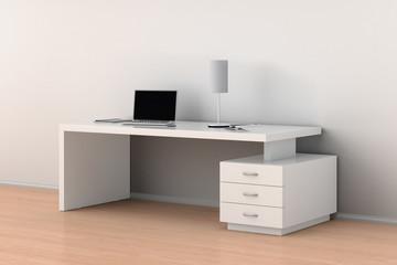 Office desk workspace