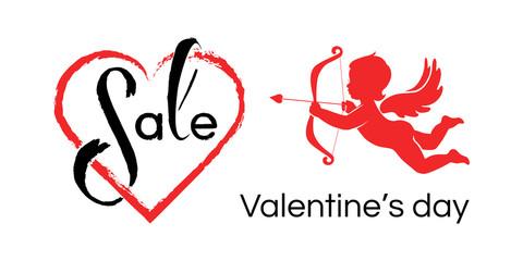 Valentines sale banner