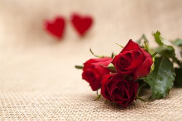 róże na walentynki