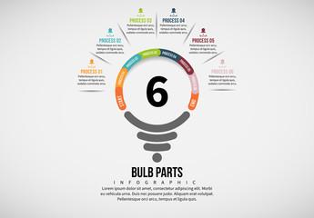 Light Bulb Process Infographic 4