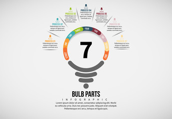 Light Bulb Process Infographic 5