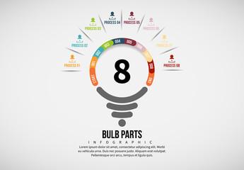Light Bulb Process Infographic 6