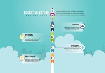 Rocket Illustration Infographic 3