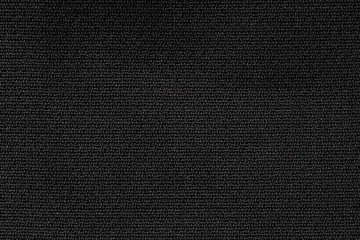 Close Up Background Pattern of black Textile Texture, Abstract color textile net pattern texture.