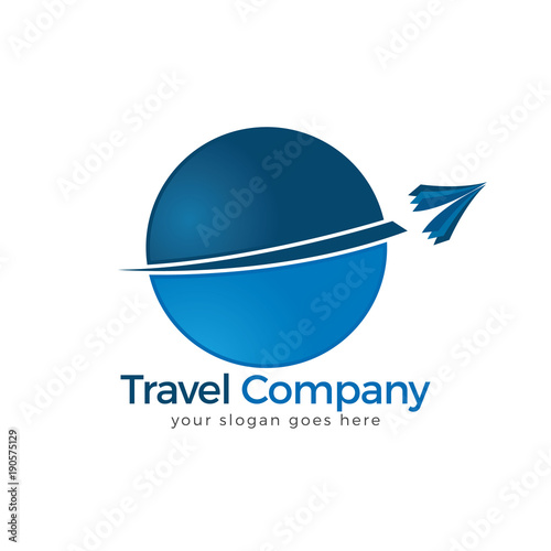 Travel Logo Agency Adventure Creative Sign