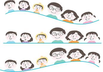 happy family background