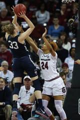 NCAA Womens Basketball: Connecticut at South Carolina