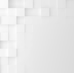 Mosaic square background. Abstract Geometric minimalistic cover design. Vector graphic.