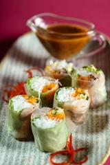 frish spring rolls