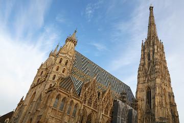 Saint Stephen Cathedral in Vienna, Austria