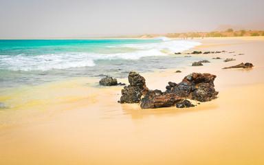 Volcanic rocks in Cape Verde