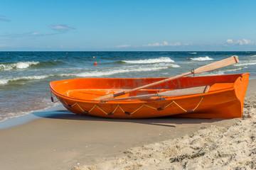 łódź ratownicza