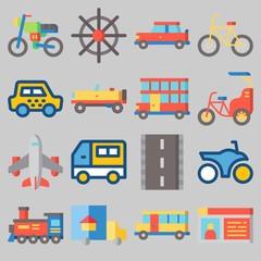icons set about Transportation . [keywordRandom:3]
