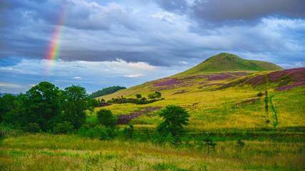 Foto auf Acrylglas Hugel East Lomond Hill Fife Scotland uk