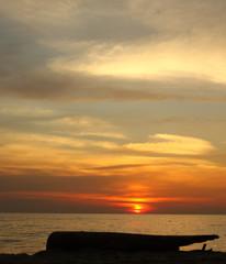 beautiful colorful sea asian ocean sunset