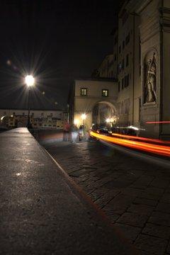 car in the night