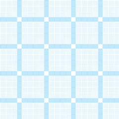 white blue dashed line and blue square frame pattern background