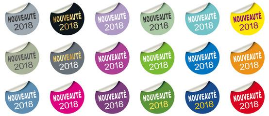 NOUVEAUTÉ 2018 ÉTIQUETTE