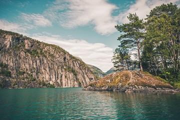 Wall Mural - Scenic Norwegian Fjord
