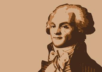 Robespierre - révolution - portrait - révolutionnaire - personnage historique - guillotine