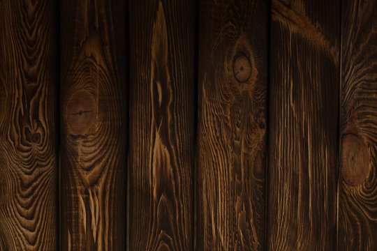 wooden broun background - square format