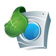 Eco washing emblem