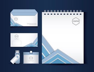 stationary templates design