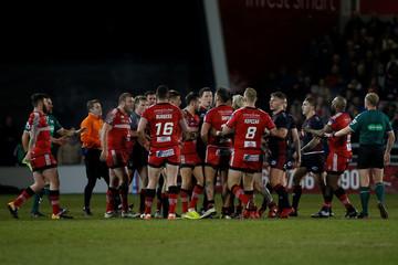 Super League - Salford Red Devils vs Wigan Warriors