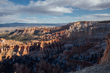 Sunset over Bryce, Utah
