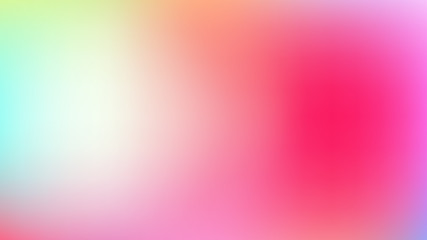 Abstract blurred colorful gradient background