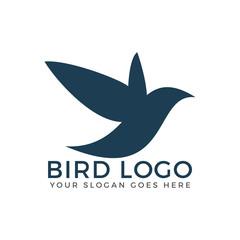 Bird vector logo concept.