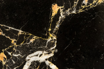golden black marble pattern with abstract detail texture