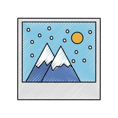 landscape picture icon