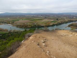 Poblado Ibérico del Castellet de Banyoles, en la población de Tivisa, Ribera de Ebro (Tarragona,España) es el poblado íbero más extenso de la Cataluña meridional.