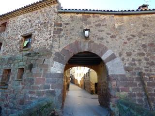 Prades, pueblo de la comarca catalana del Baix Camp, Tarragona (Cataluña,España)