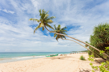 Balapitiya, Sri Lanka - The beautiful landscape at the beach of Balapitiya