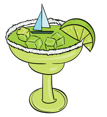 Sailing Away in a Margarita