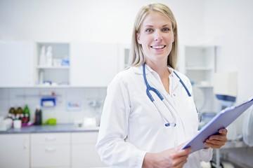 Female doctor, portrait