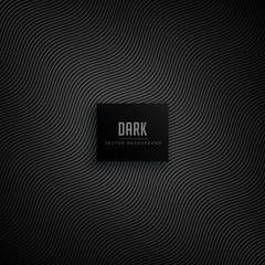 dark background with wavy pattern lines