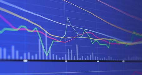 Financial diagrams for stock market