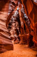 Deurstickers Rood paars Antelope Canyon 2