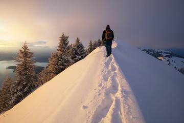 Winterwandern in der Schweiz