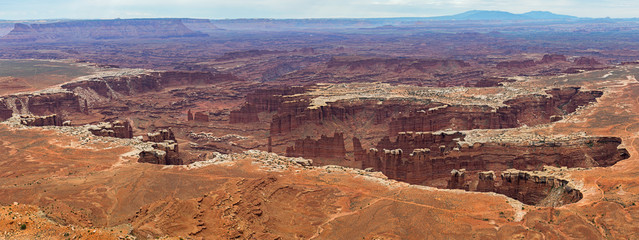 Green River Overlook In Canyonlands National Park