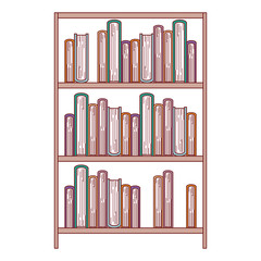books education paper learning library study school textbook vector illustration